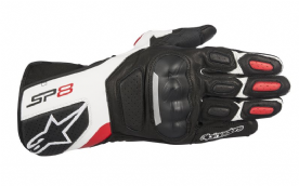 Alpinestars SP8 v2 Gloves Black White Red